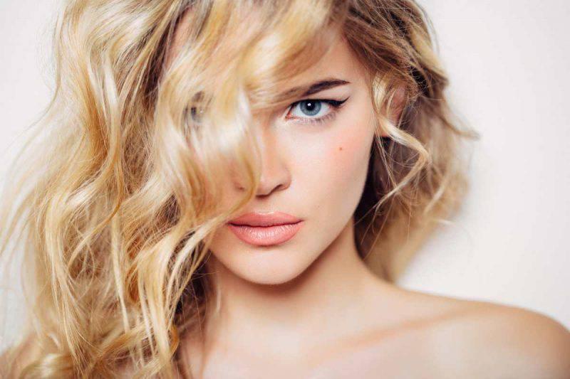 capelli colpi di luce