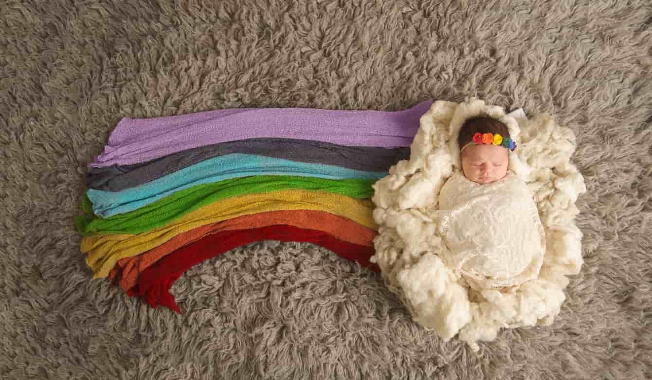 Bambini arcobaleno   chi sono i bimbi che portano la luce