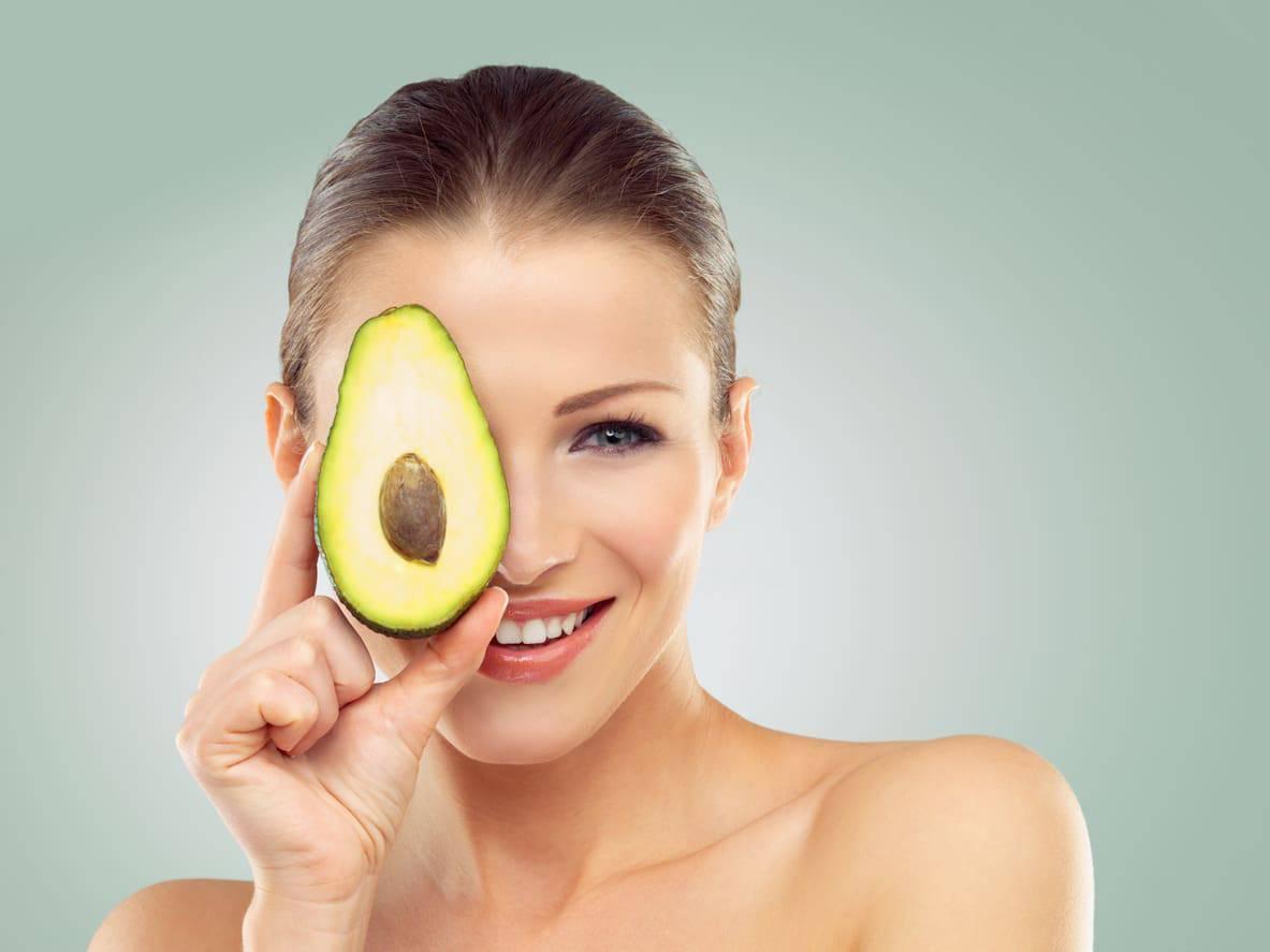 Pelle perfetta con l'avocado