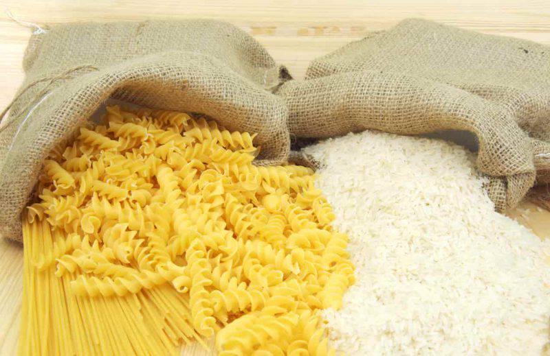 riso o pasta proprietà scelta