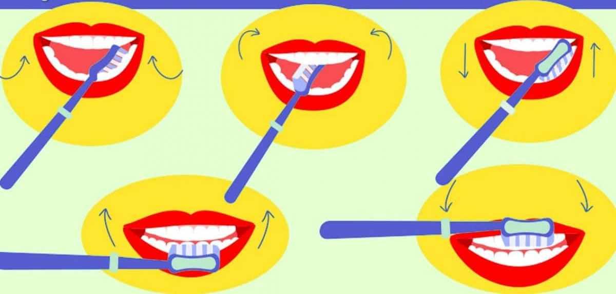 test lavare denti