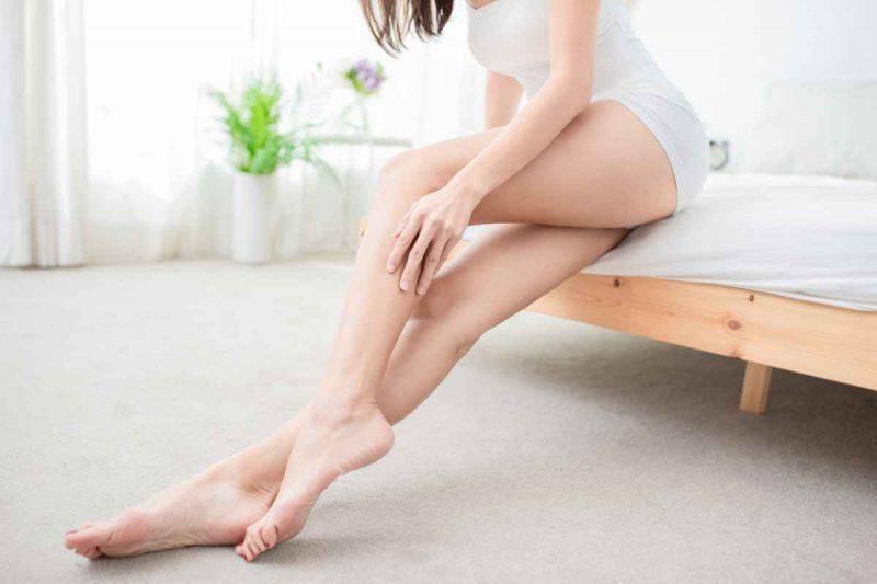 Ceretta a caldo alle gambe