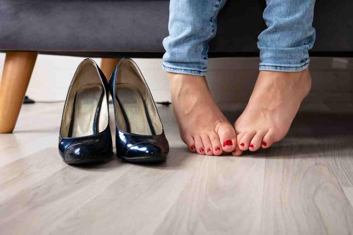 Cattivo odore delle scarpe