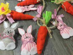 Coniglietti e carotine fai da te