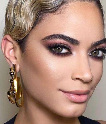Il makeup di Elodie a Sanremo   un capolavoro di Daniele Lorusso