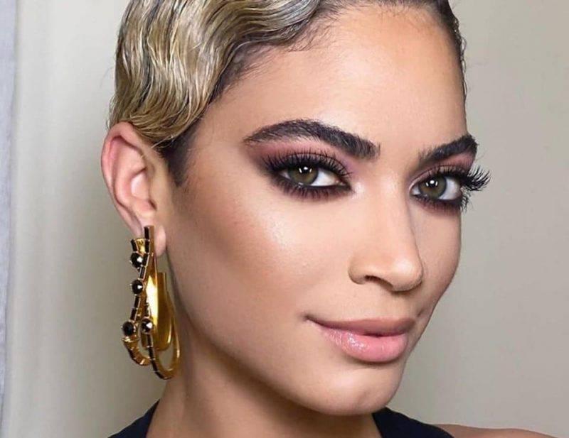 Il makeup di Elodie a Sanremo | un capolavoro di Daniele Lorusso