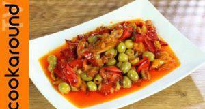 Ricetta vegetariana   caponata di peperoni