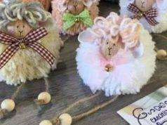 Pasqua fai da te | pecorelle con la lana