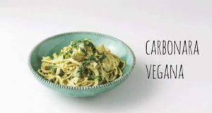 Ricetta vegana | spaghetti alla carbonara