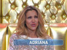 Grande Fratello Vip, Adriana Volpe piange