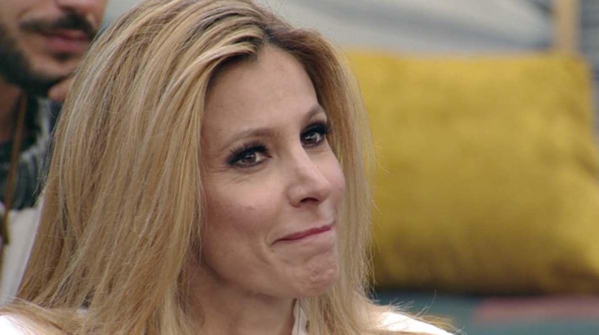 GF Vip, Adriana Volpe piange