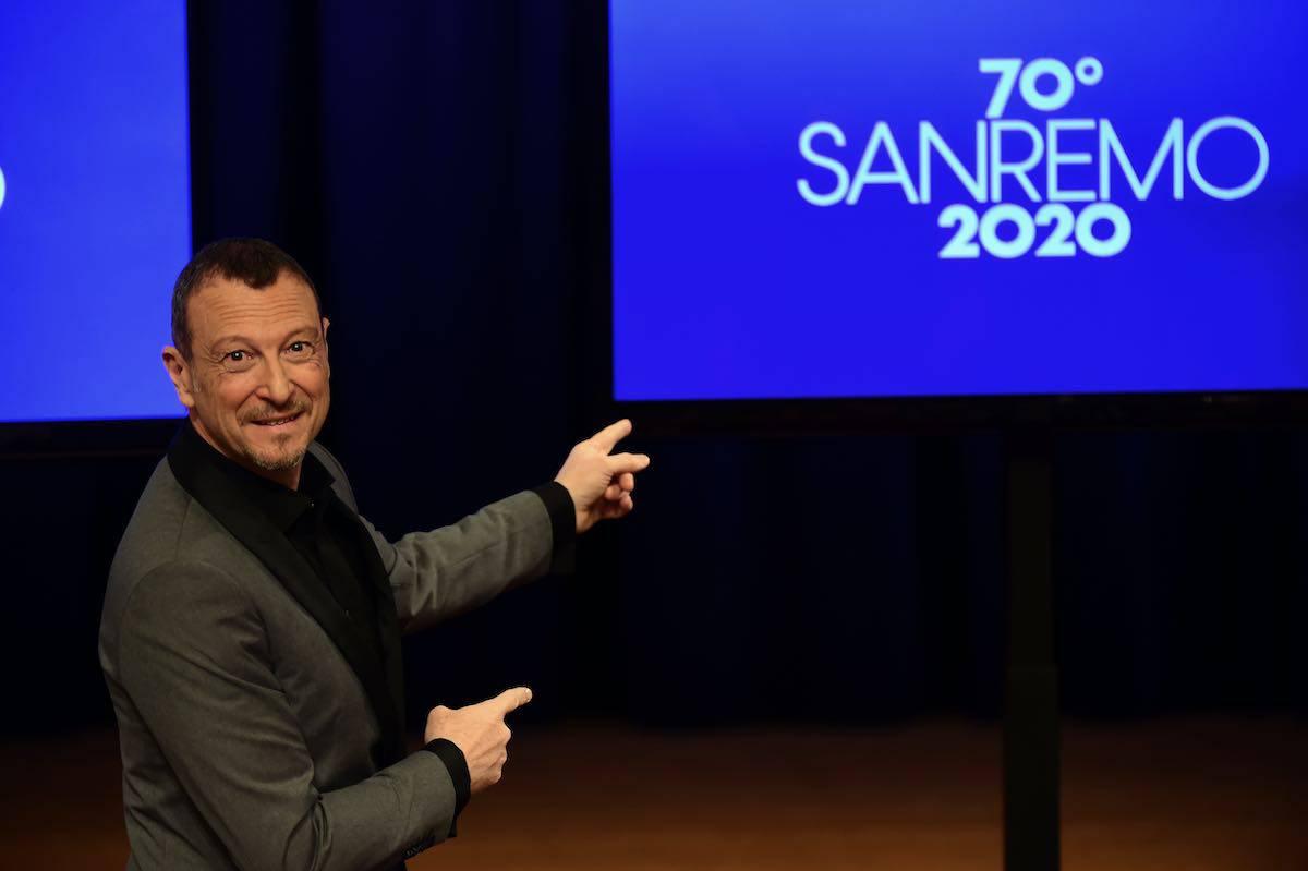 Amadeus è pronto per il Festival di Sanremo