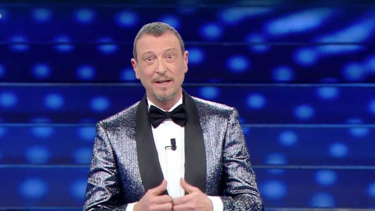 spettatore ha infarto a Sanremo