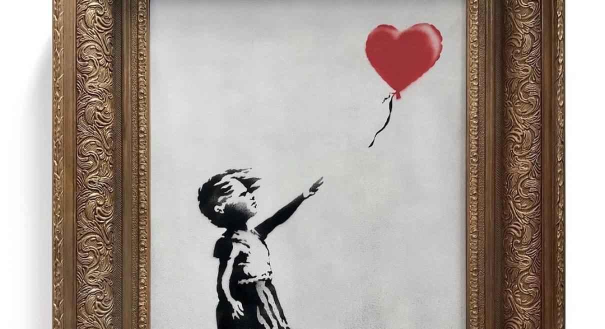 Banksy di San Valentino: il murale in cui Cupido (forse) esplode