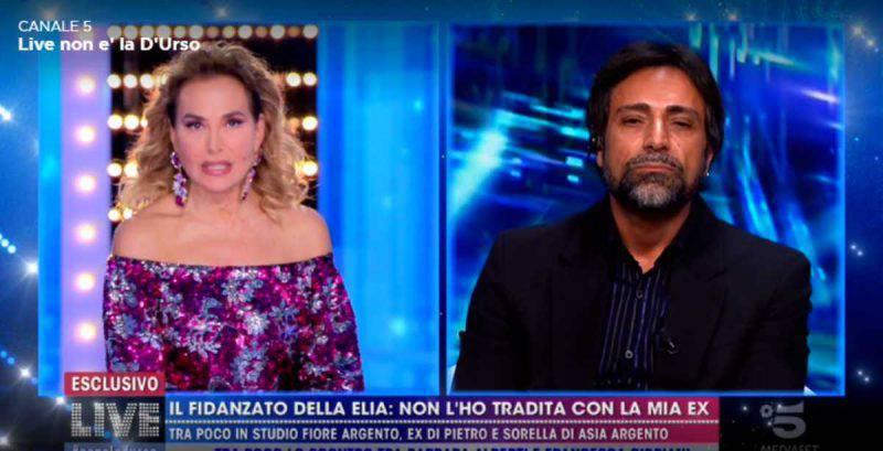 Barbara d'Urso furiosa a Live