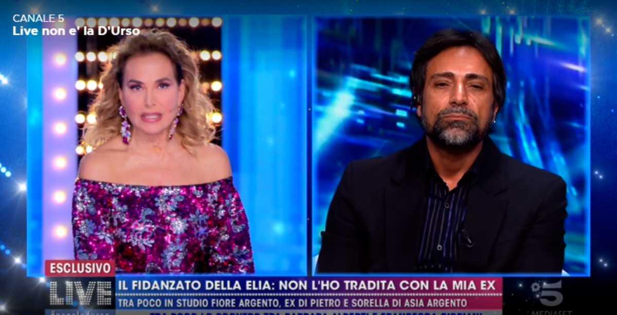"""Barbara d'Urso asfalta Pietro Delle Piane a Live: """"Non ti permettere!"""""""