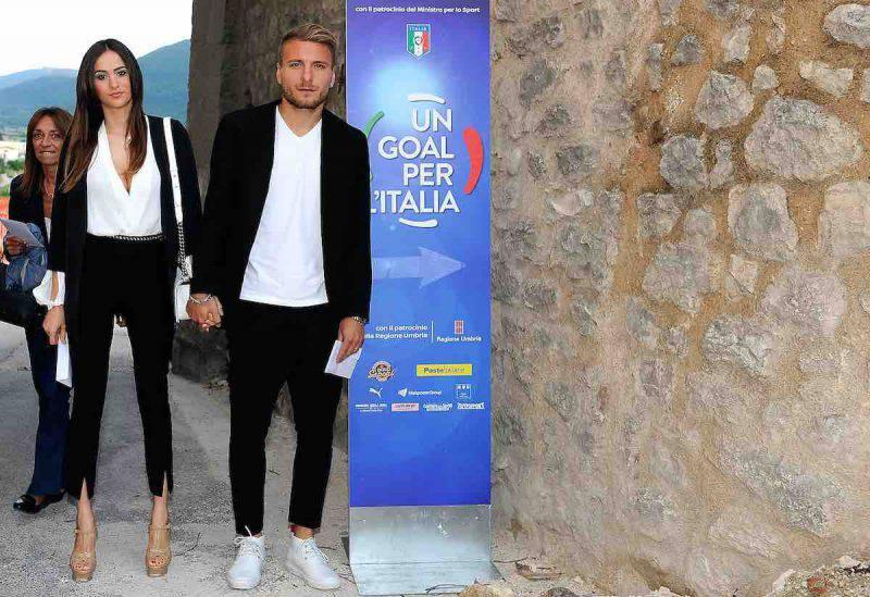 Ciro immobile e Jessica Melena, un amore da Serie A