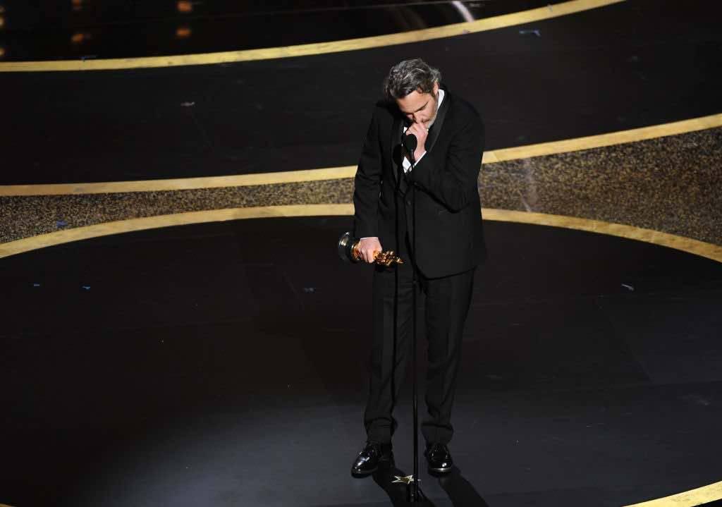 Joaquin Phoenix discorso oscar