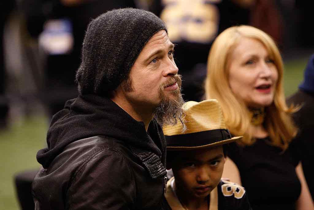Brad Pitt figlio