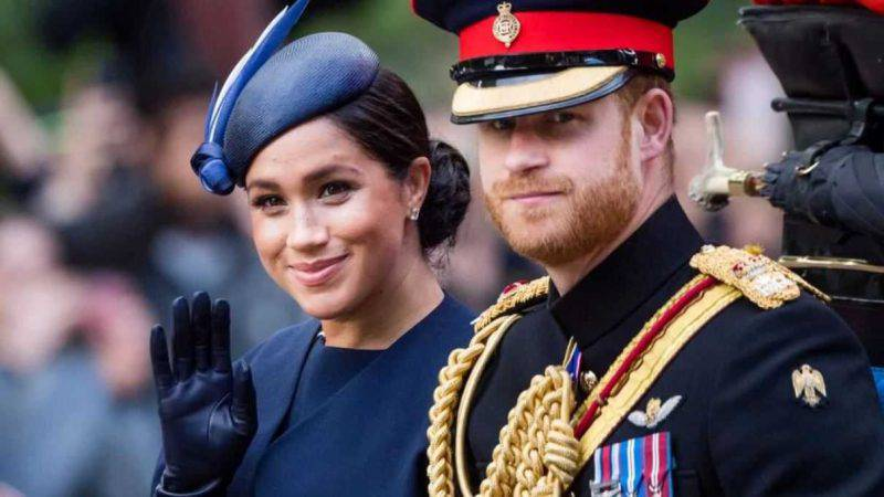 Harry e Meghan staff