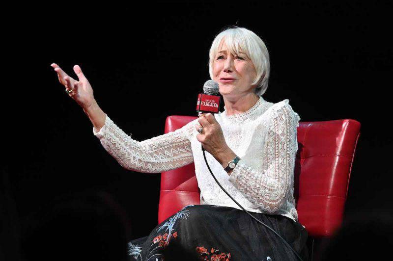 Helen Mirren e l'amore per i film di Checco Zalone
