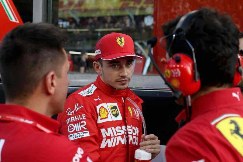 Leclerc fiducioso per la nuova stagione automobilistica