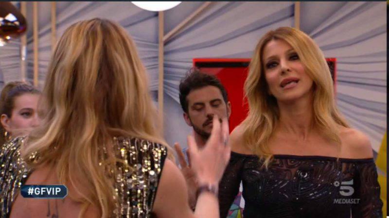 GF Vip, Adriana contro Licia