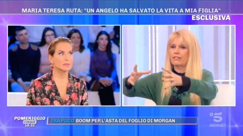 Pomeriggio 5, Barbara d'Urso e Maria Teresa Ruta