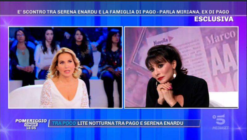Miriana Trevisan da Barbara d'Urso a Pomeriggio 5
