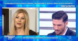 Domenica Live, confronto Paola e Moreno