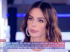 Nina Moric a Live Non è la d'Urso