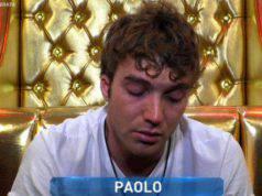 Paolo Ciavarro confessionale GF Vip