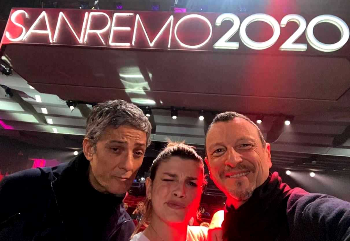 "Sanremo 2020, Amadeus alla stampa: ""Polemiche? Ho la coscienza pulita"""