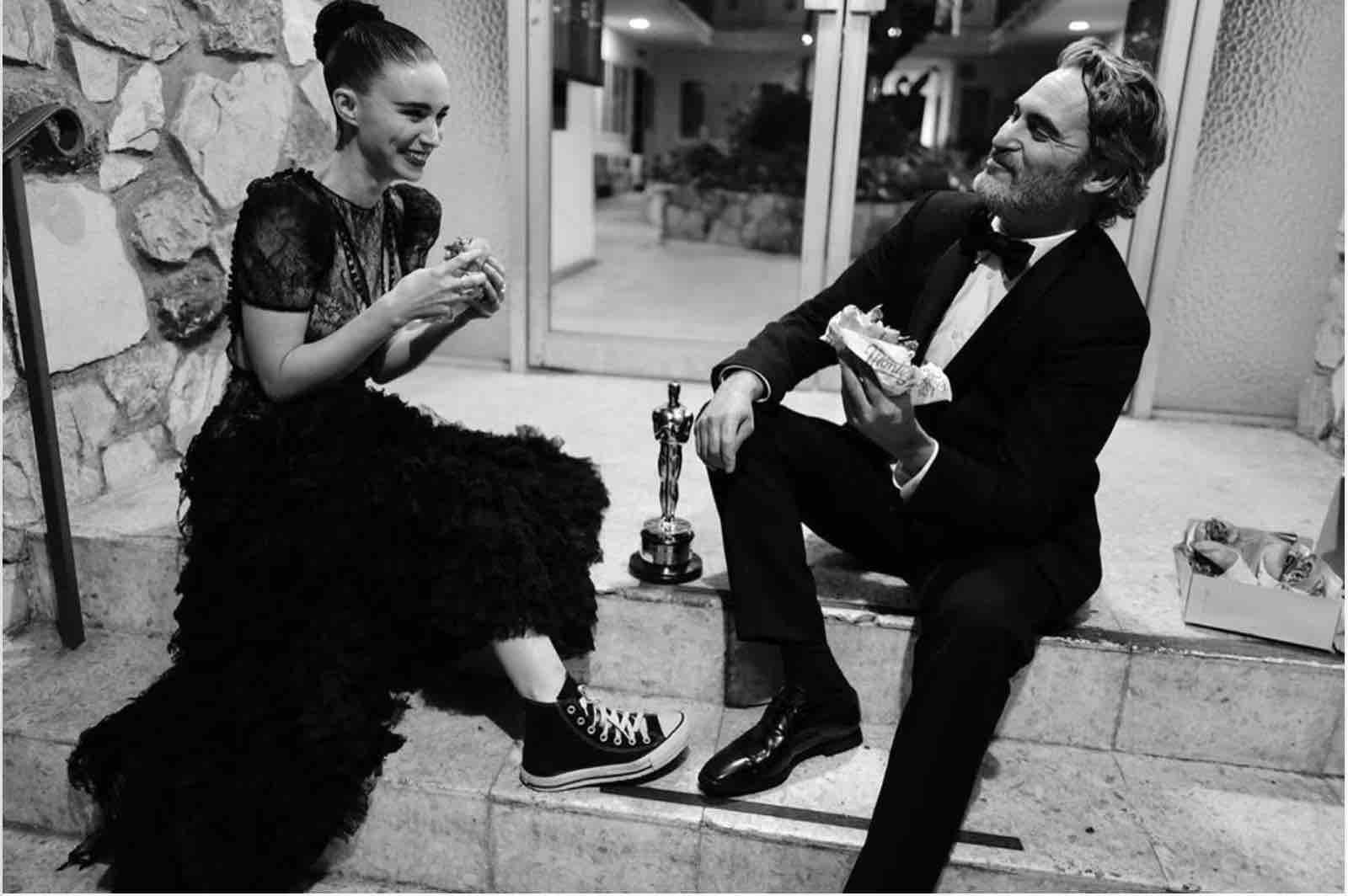 Joaquin Phoenix Rooney Mara  oscar 2020