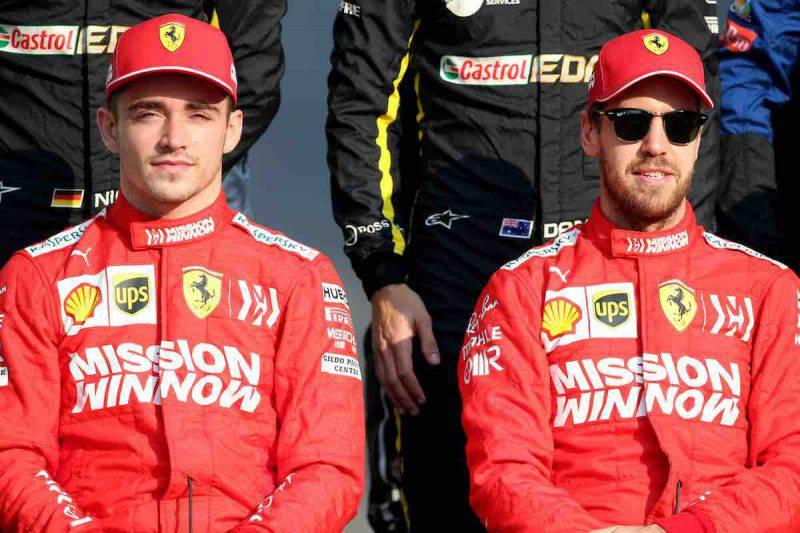 Vettel e Leclerc pronti per il Mondiale di Formula Uno 2020