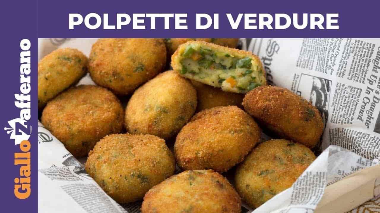 RIcetta Vegetariana | polpette di verdure -VIDEO-