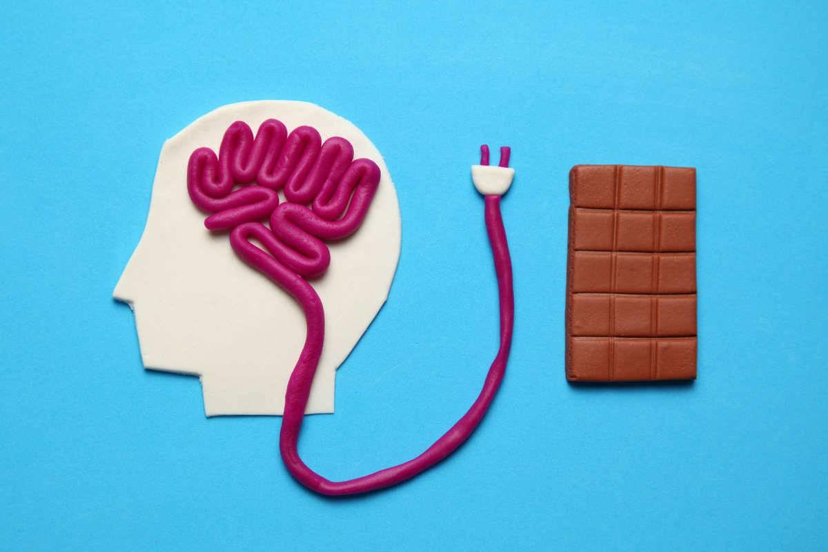 cervello e cioccolato