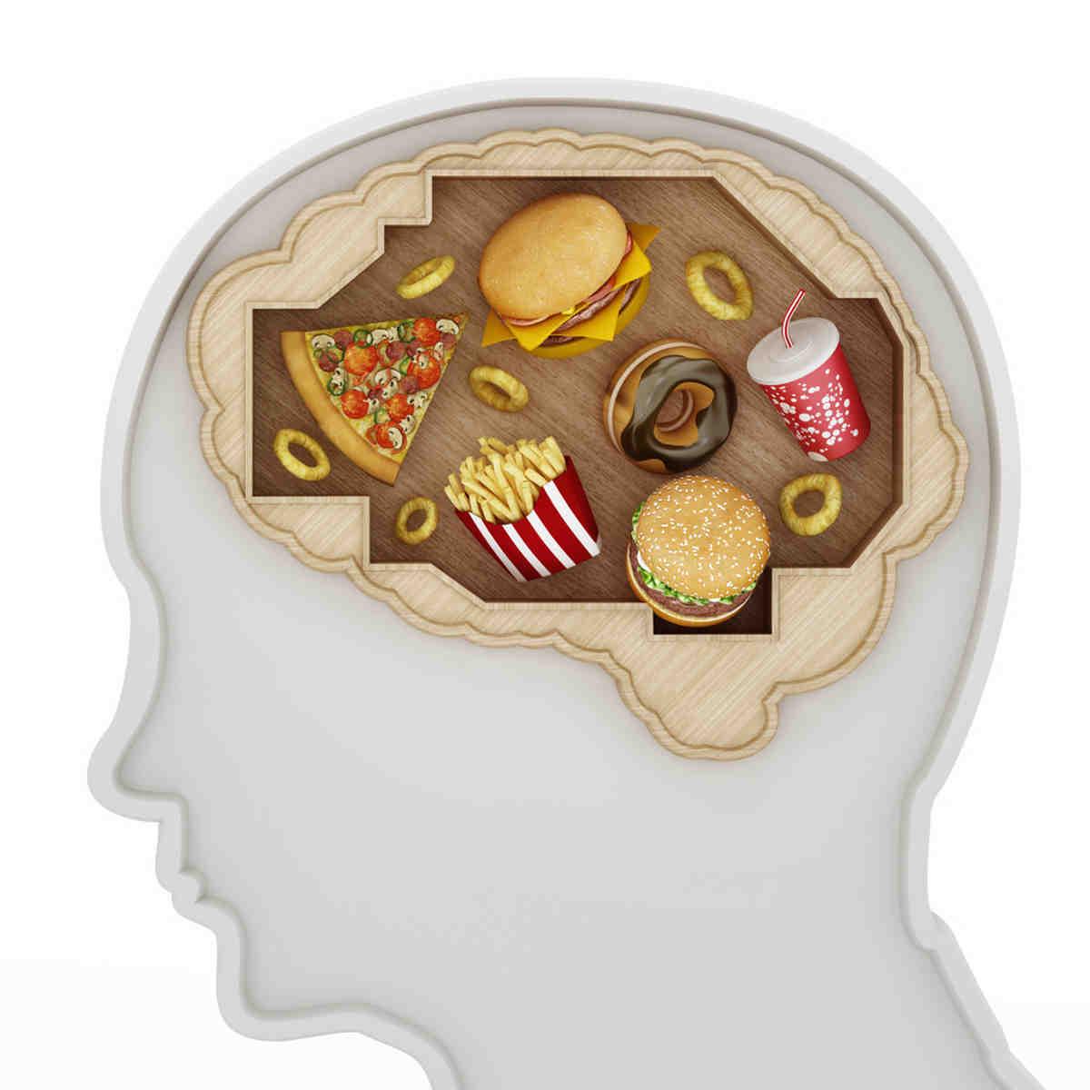cervello fast food