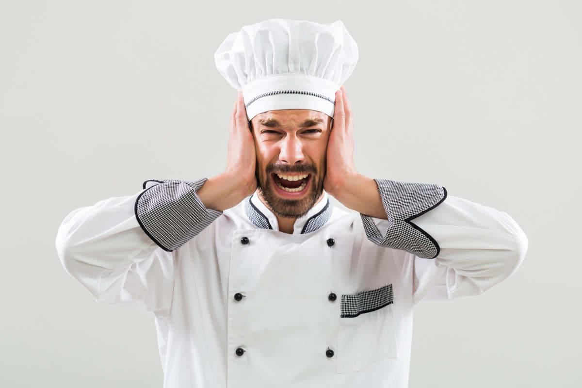 Cuoco stressato