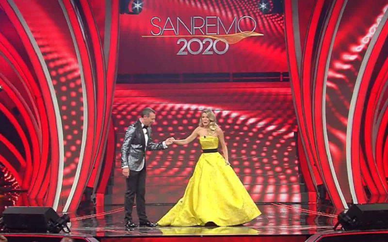 Diletta Leotta primo abito a Sanremo