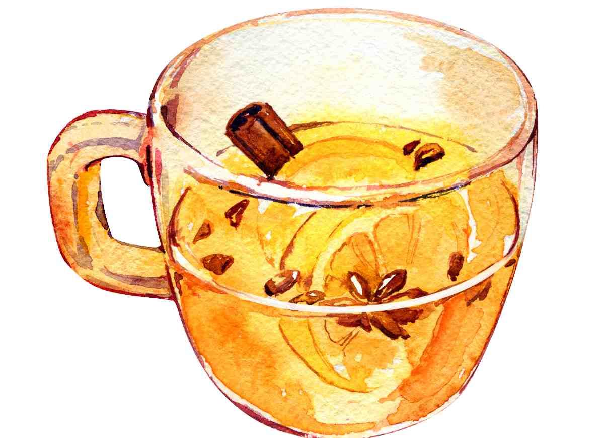 tisana miele e cannella