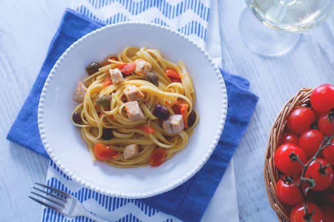 pasta con pesce spada la ricetta