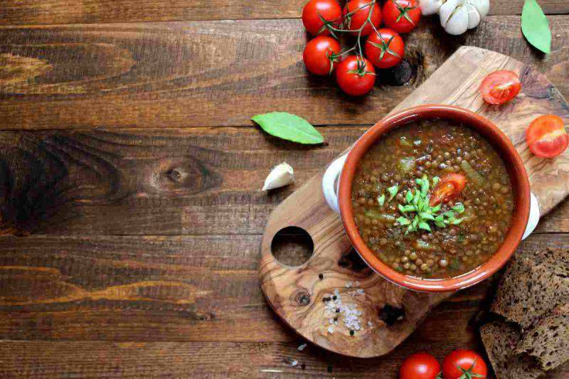 Conservare le lenticchie