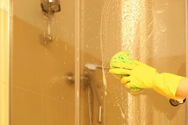 Il prodotto naturale per pulire il vetro della doccia