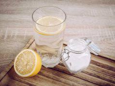 acqua limone bicarbonato