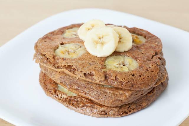 Banana pancake | Ricetta senza zucchero