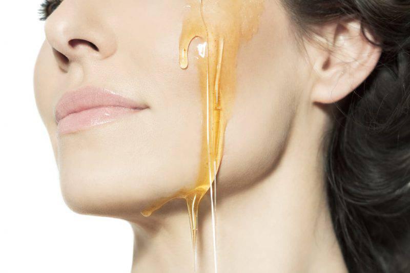 Pelle perfetta con il miele