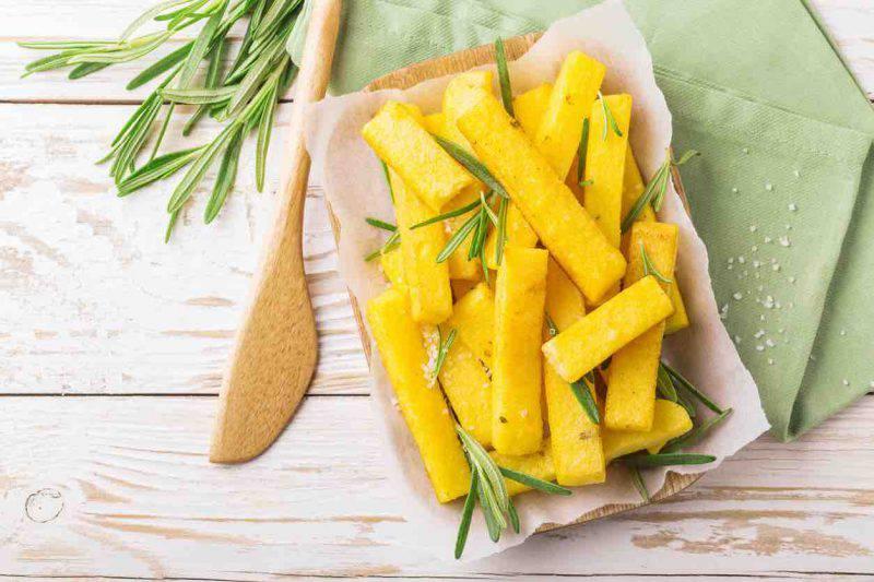 come fare la polenta fritta