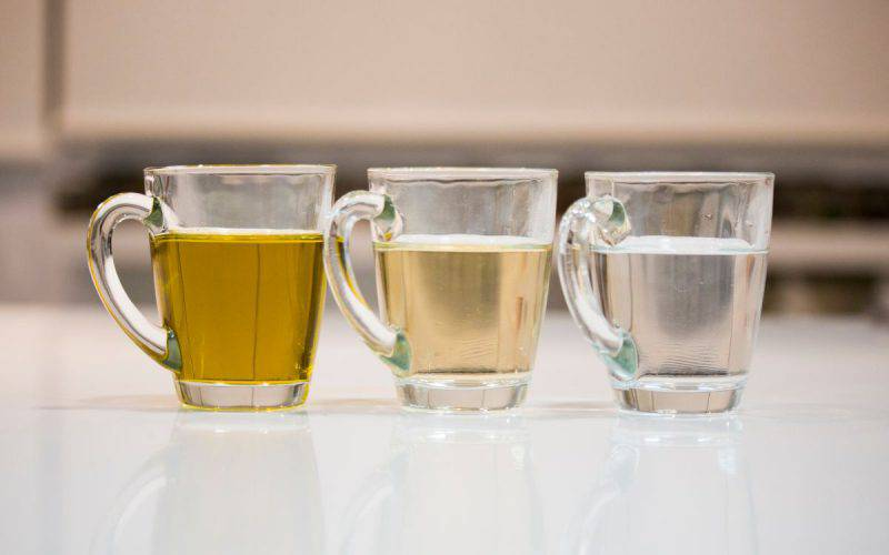 aceto olio acqua