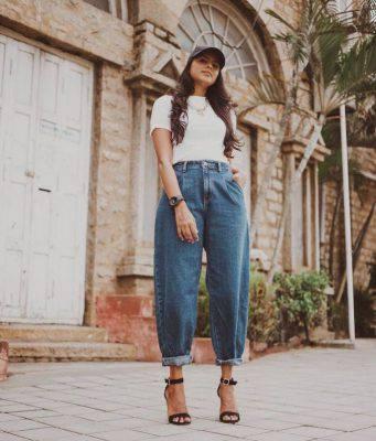 jeans slouchy abbinamenti